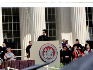 Speaker at MIT Commencement, 2012